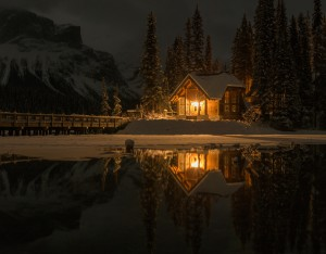 20171130-Emerald Lake resort - 8 frame pano - 50mm